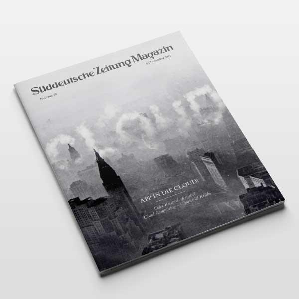 Süddeutsche Zeitung Magazin Cover Cloud