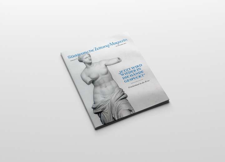Süddeutsche Zeitung Magazin Cover Griechenland